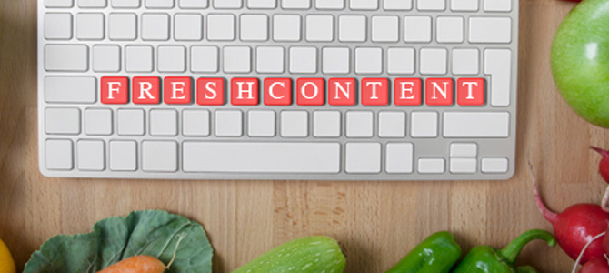 Fresh Content Has a Great Impact on Your Website
