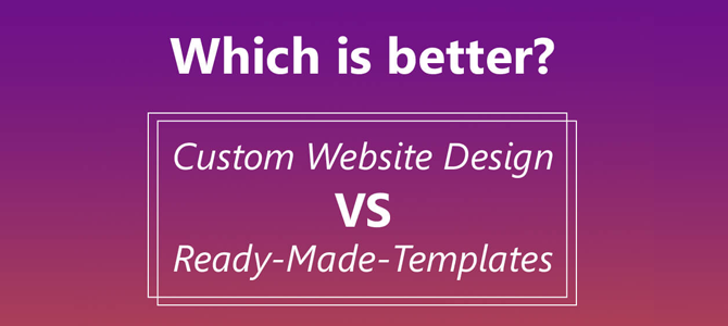 Using Design Templates? Beware of things that can affect your business